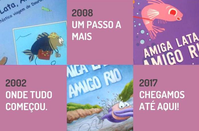 """""""Amiga Lata, Amigo Rio"""", uma aventura"""