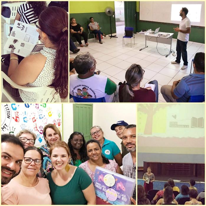 Nossa jornada mato-grossense -> primeira turnê de encontros com educadoras