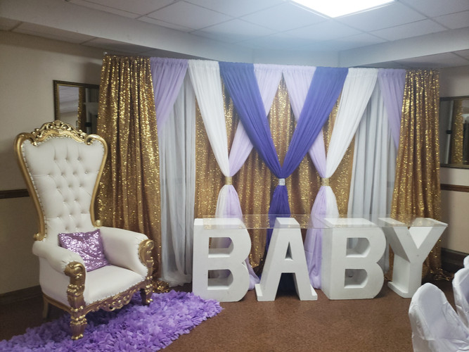 Baby Shower Seating Package A