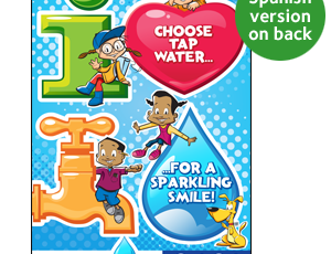 Choose Tap Water for a Sparkling Smile