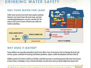 New Fact Sheet Puts a Spotlight on Childcare Tap Water Safety