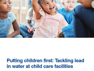 Finding and fixing lead in water at child care facilities: a pilot from EDF