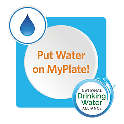 Put Water On My Plate Stickers Design.pn