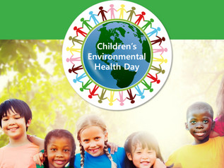 Children's Environmental Health Day is October 10th