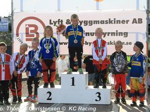 BMX Helsinkiä edustavalle Kasperille PM-hopeaa!