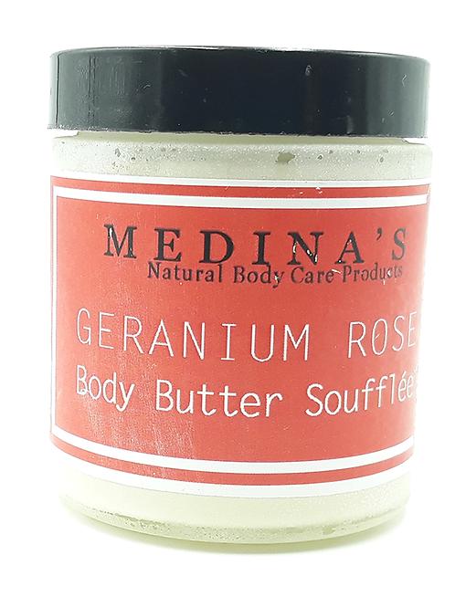 Rose Geranium Body Butter Souffle