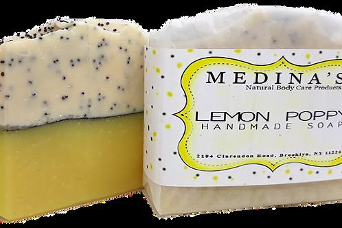Lemon Poppy Soap
