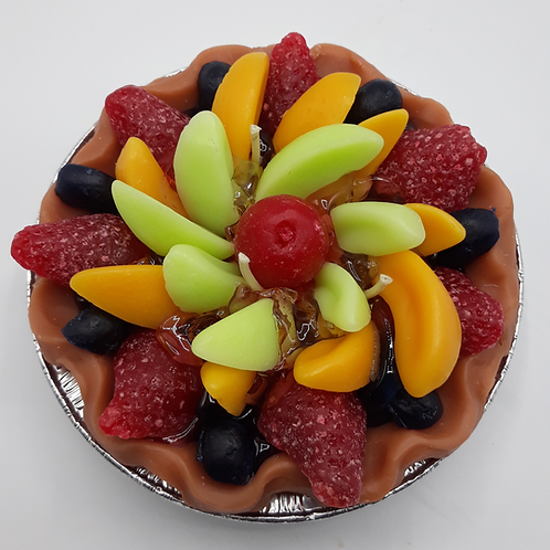 5 in. Mixed Fruit Pie Candle