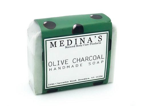 Olive Charcoal soap