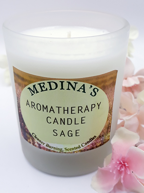 Aromatherapy Soy Candle - Sage
