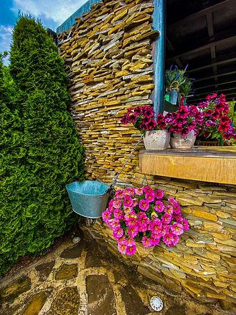 #озеленяване #поливна система #градинско осветление #настилки