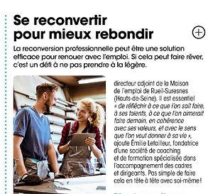 article-presse-reconversion-emploi-rueil-suresnes