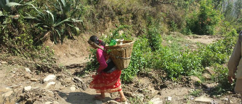 Villager Voyaging for Water