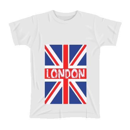 White T-Shirt-London