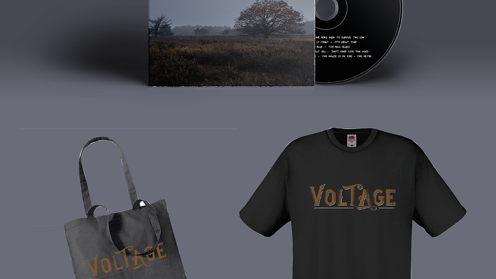 Package Deal - CD, T-Shirt, Tote-bag