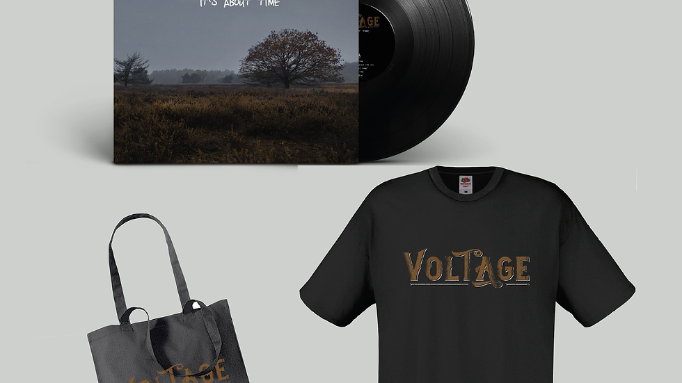 Package Deal - Vinyl, T-Shirt, Tote-bag