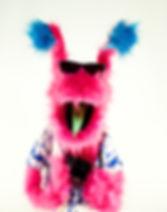 Color Sound Lab, custom puppet, Mark Two The Aien Tourist