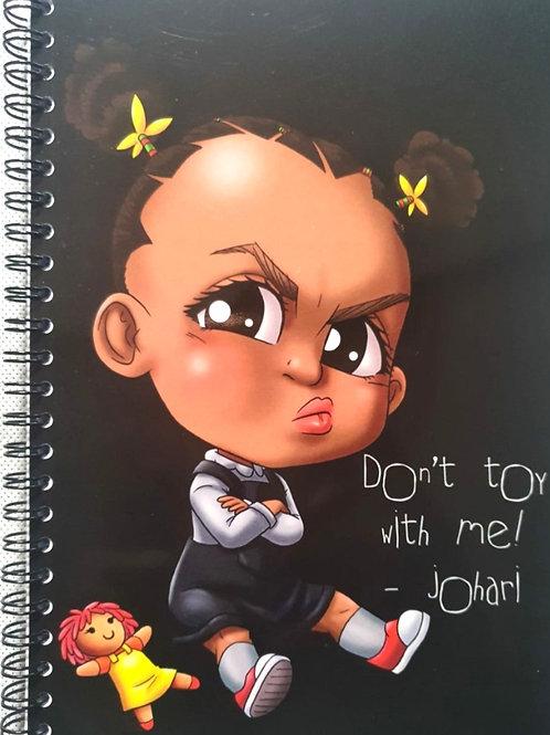 Johari notebook