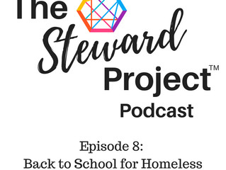 Podcast Episode 8: Back to School for Homeless Youth-How you can help!