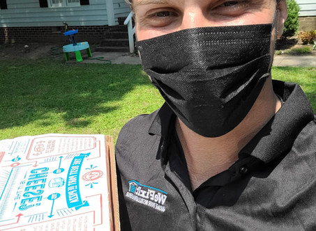 Want a free pizza from WeFixIt Garage Doors?