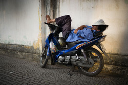 Motorcycles in HCMC
