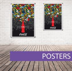 Wall poster coca cola