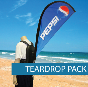 Teardrop Backpack Flag