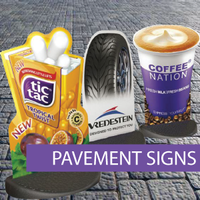 A-Frame - Pavement Sign, Ecoflex Sign  (