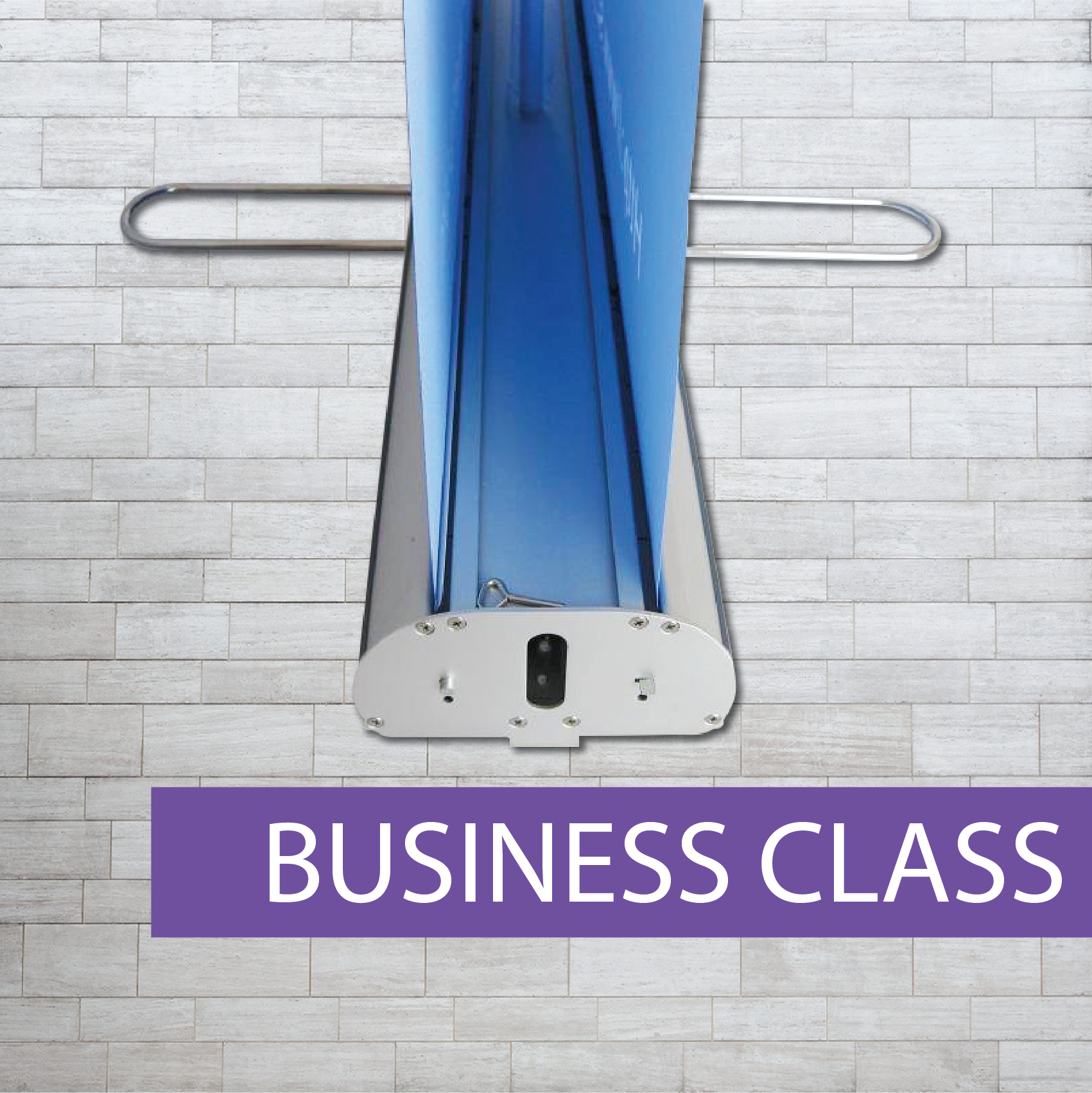 Double sided business style pull-up