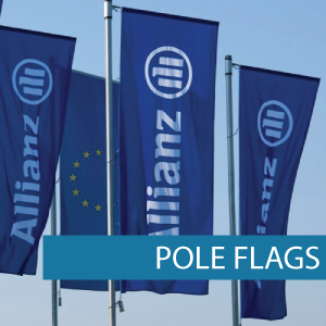Corporate flags flags for Allianz