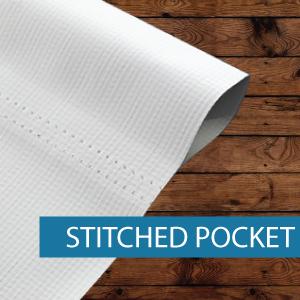 Outdoor Media - Finishing - Stitched Poc