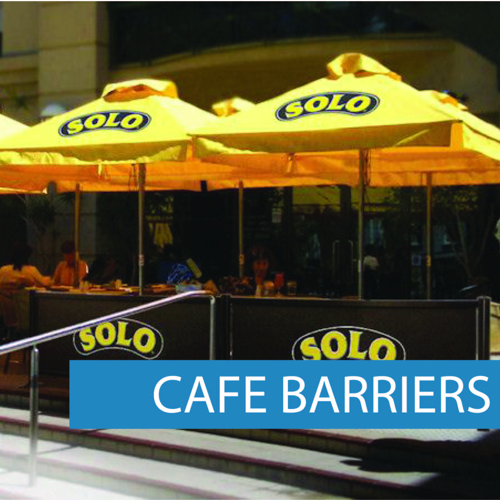 Cafe Barriers Solo