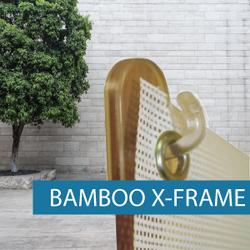Portable Display - X-Frame - Bamboo 4