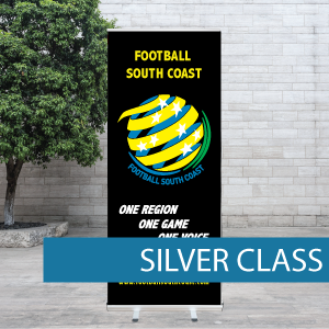 Football South Coast Pull-up Banner