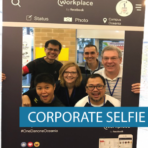 Corflute - Selfie Frame - Corporate Self
