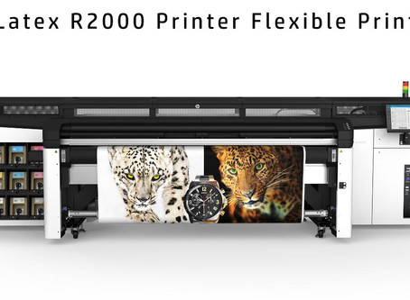 HP Launches First Hybrid Rigid and Flexible Latex Printer