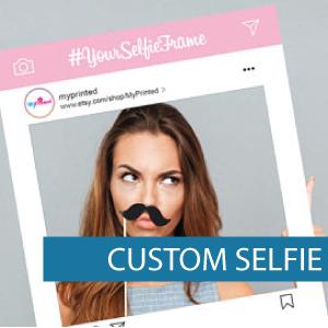 Corflute - Selfie Frames - Custom Selfie
