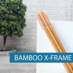 Portable Display - X-Frame - Bamboo 3