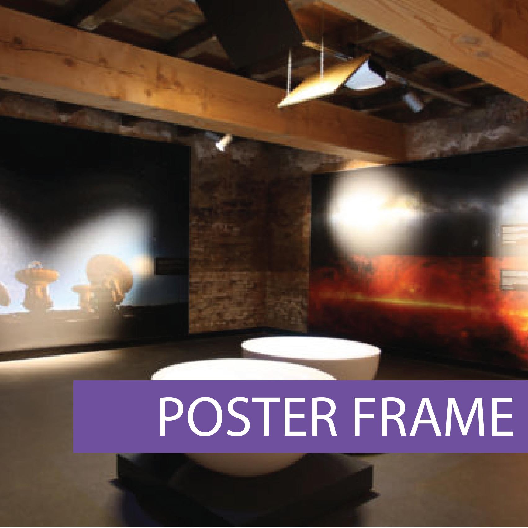 Poster framelss frame