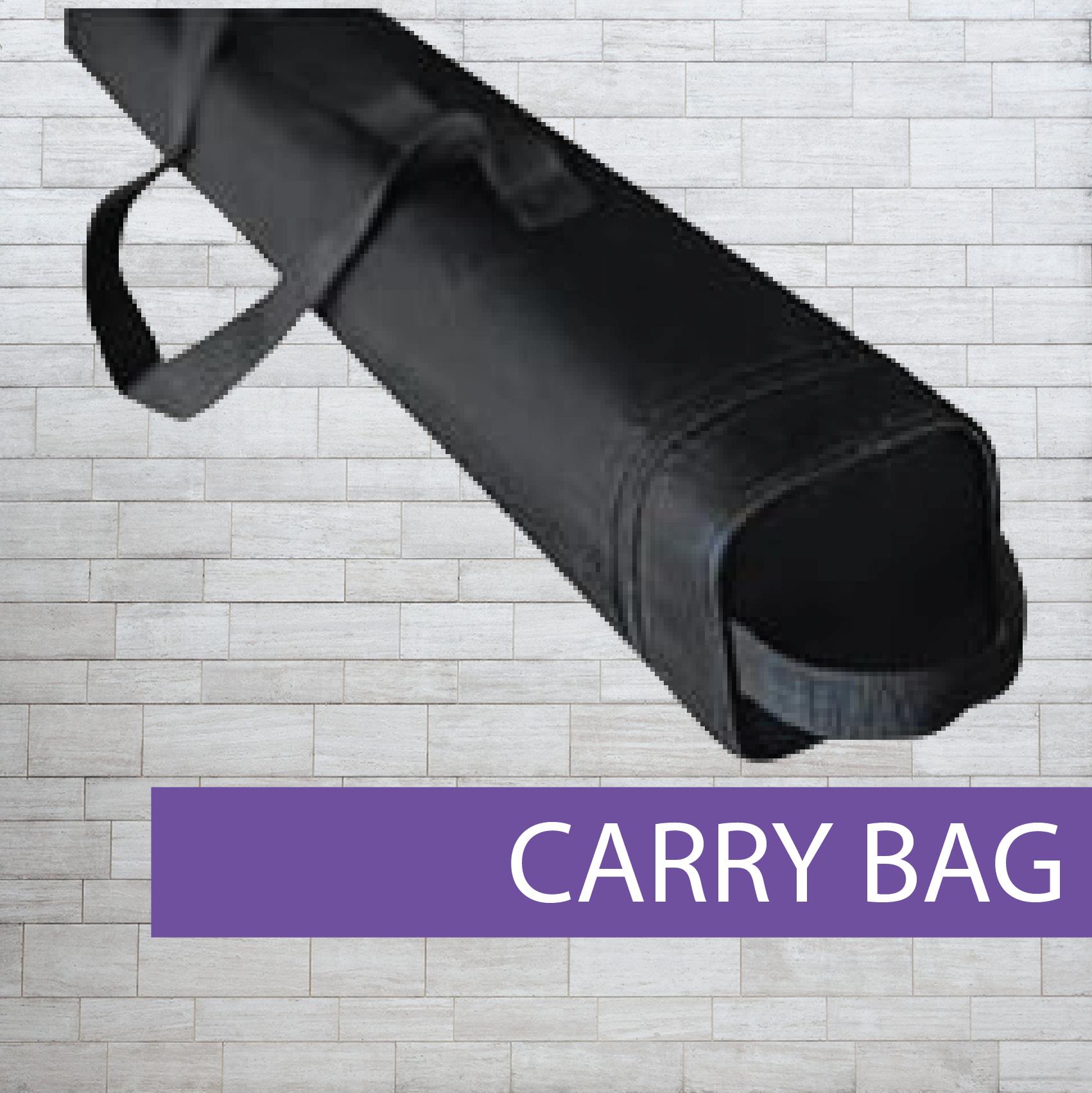 Pull-up banner bag