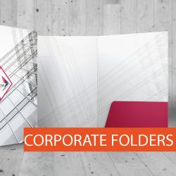 Custom Stationery Presentation Folders