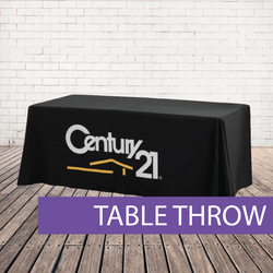 Loose table throw