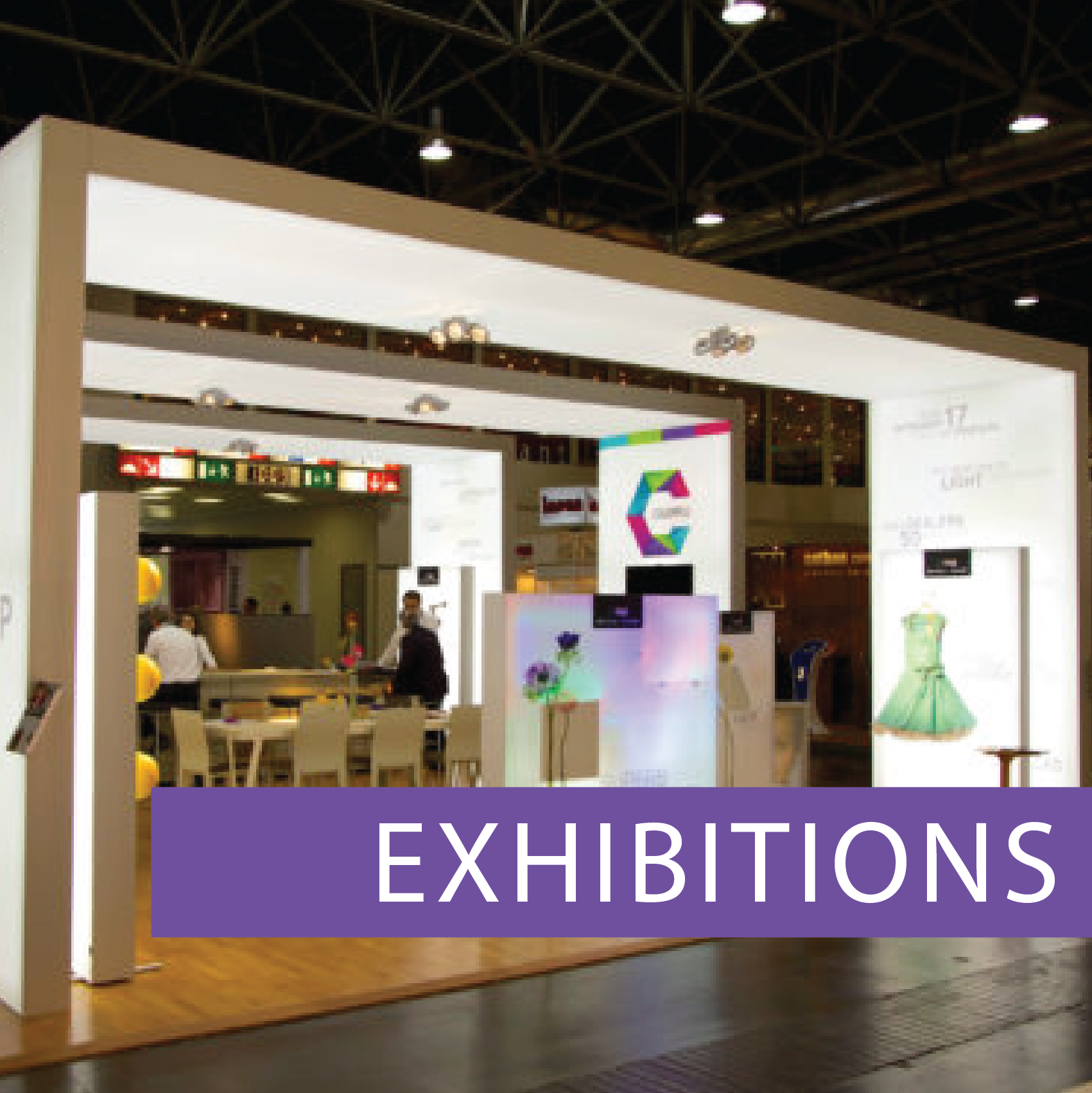 Matrix Frame Exhibition Displays