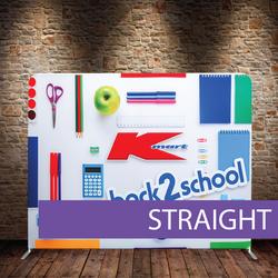 Straight Media Wall