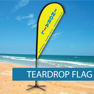 Teadrop Flags Extra Large