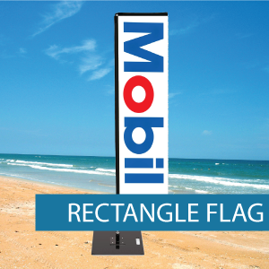 Flags - Rectangle Flags - BM 3