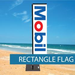 Flags - Rectangle Flags - BM 3