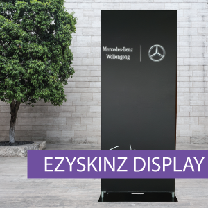 EZYSKINZ - Display Stand - Mercedes