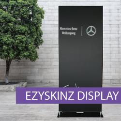 EZYSKINZ - Display Stand - Mercedes