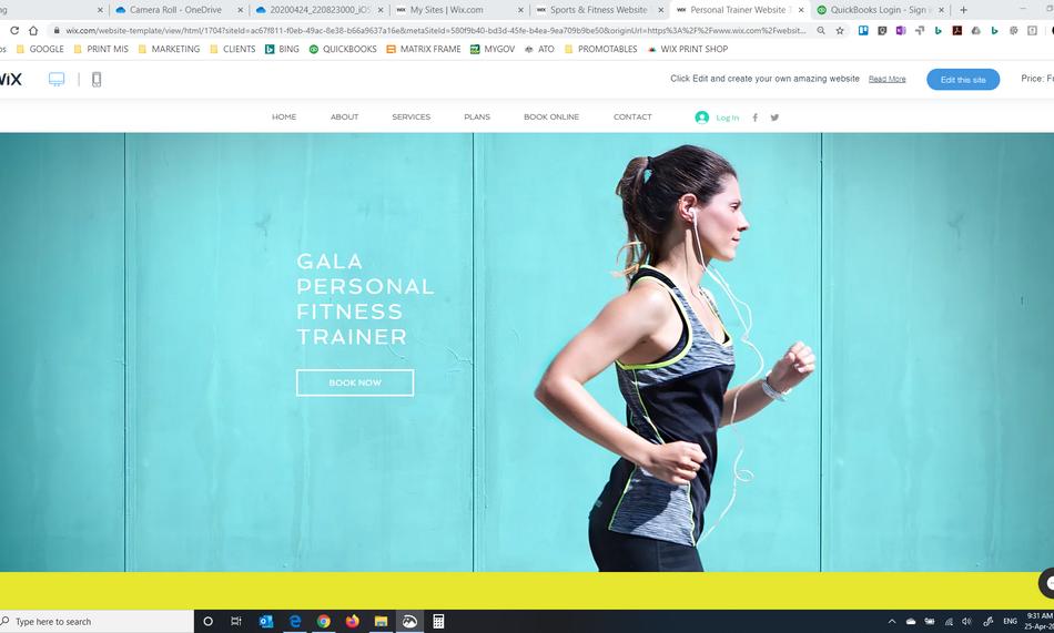 Design - Graphic Design - Wix Web Design